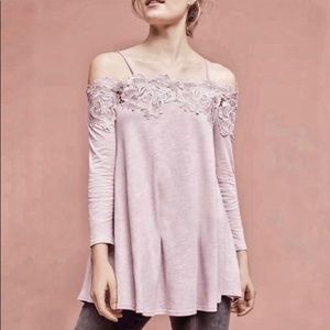 Anthropologie Meadow Rue Off the Shoulder Top